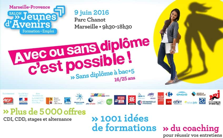 Un Salon De L Emploi Avec Des Milliers D Offres Pour Les Jeunes Provencaux Made In Marseille