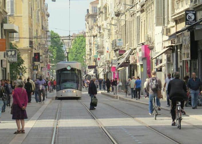 commerce centre ville rue de Rome