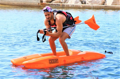 , Un éducateur marseillais invente le ski de fond sur l'eau !, Made in Marseille
