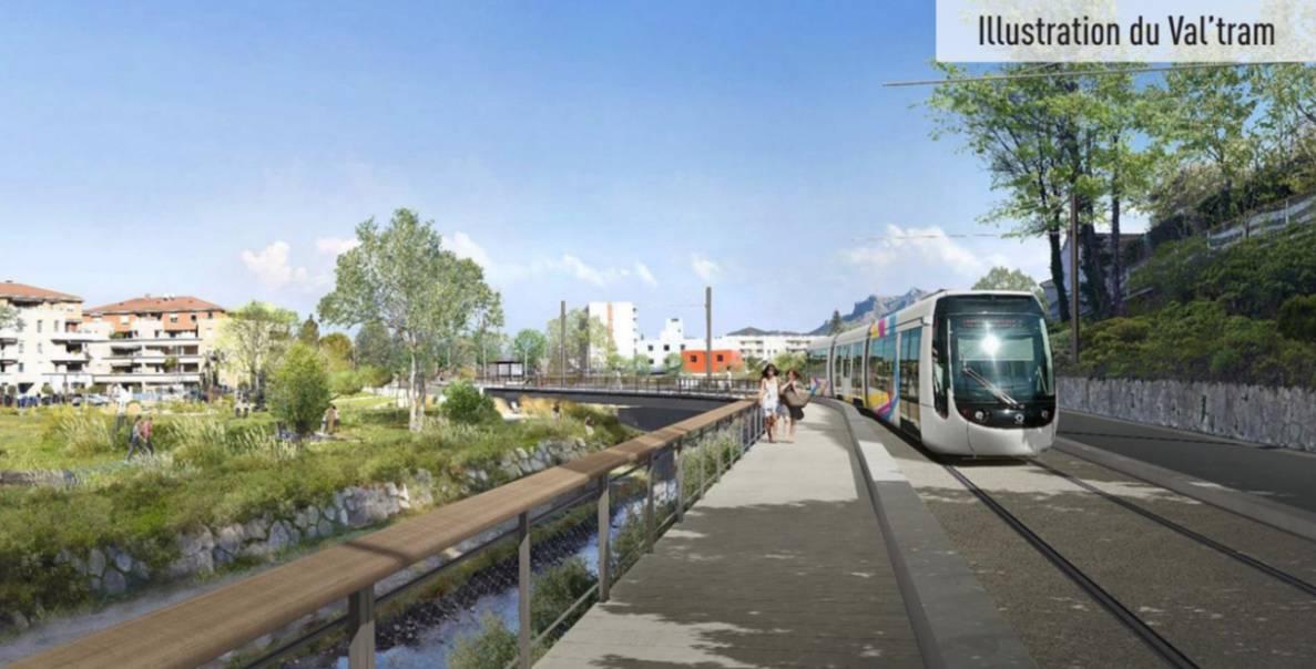 , Le projet du Val'Tram entre Aubagne et La Bouilladisse sur de bons rails, Made in Marseille