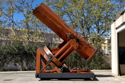 , Le télescope du 19e siècle de l'observatoire de Marseille, Made in Marseille