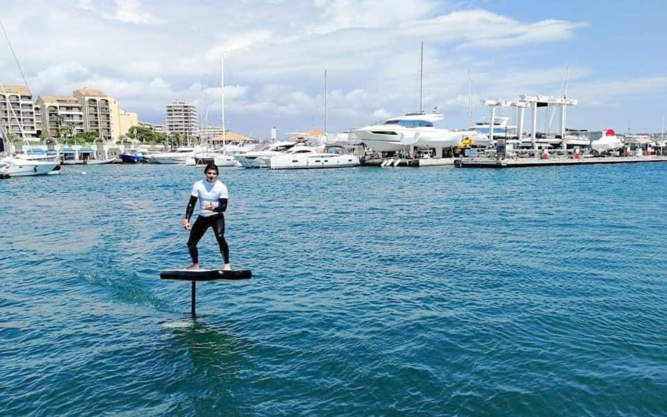 , Des Provençaux inventent Whimsifoil, le surf électrique qui vole sur l'eau, Made in Marseille