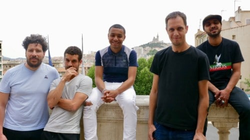 , Vidéo – Grand Corps Malade et Mehdi Idir de passage à Marseille pour présenter «La Vie Scolaire», Made in Marseille