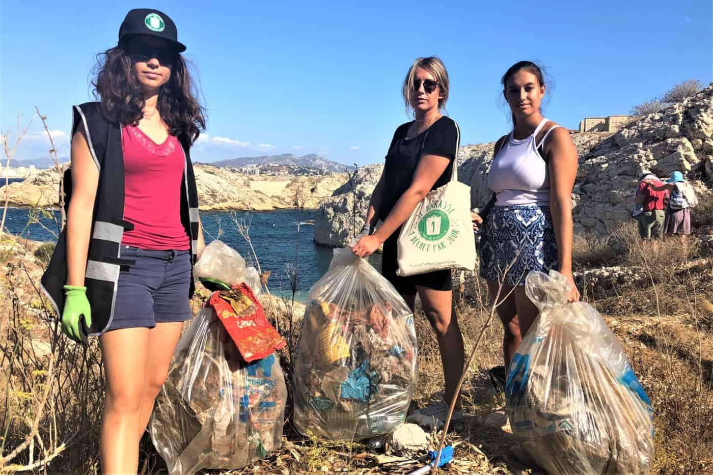 , 1 Déchet par jour lance un « world Cleanup day version Marseille » en mai, Made in Marseille