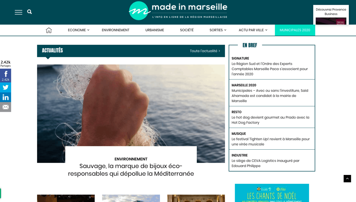 , Made in Marseille dévoile son nouveau site internet, Made in Marseille