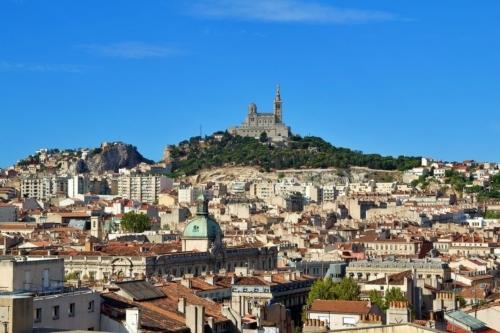 , Marseille vue du ciel : Un drone capture des images de la ville pendant le confinement, Made in Marseille