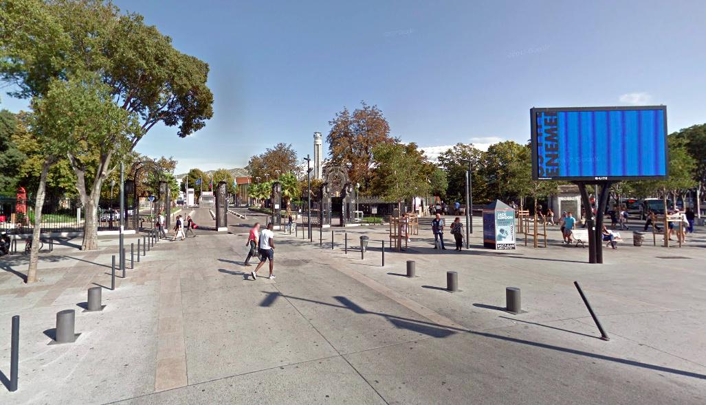 , Le parc Chanot se transforme en usine de production de masques, Made in Marseille