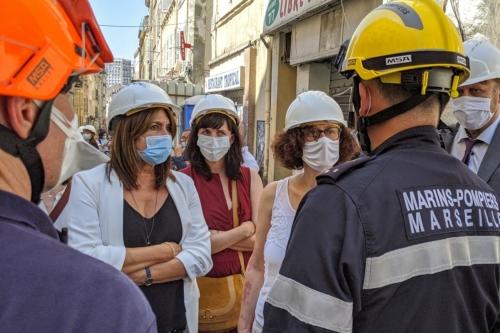, La ministre du logement en visite à Marseille : l'État a mis « de 240 à 250 millions d'euros », Made in Marseille
