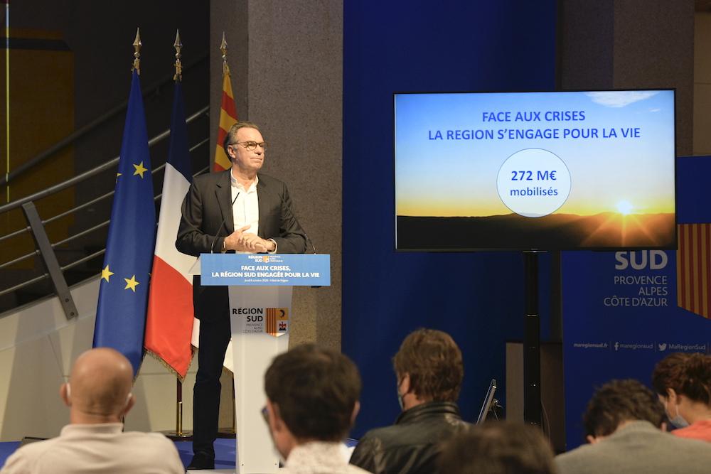 , Face à la crise, la Région Sud mobilise 272 millions d'euros pour les trois prochains mois, Made in Marseille
