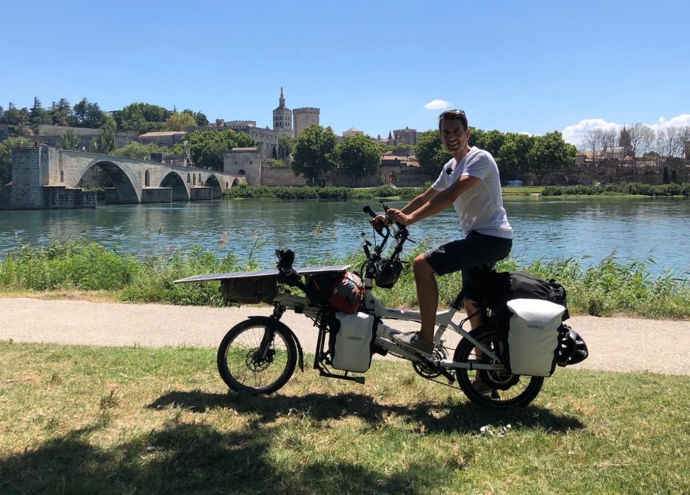 """, Un Provençal part faire le tour de France avec son vélo """"solaire"""", Made in Marseille"""